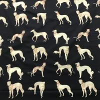 Hounds - Cotton Lawn Fabric
