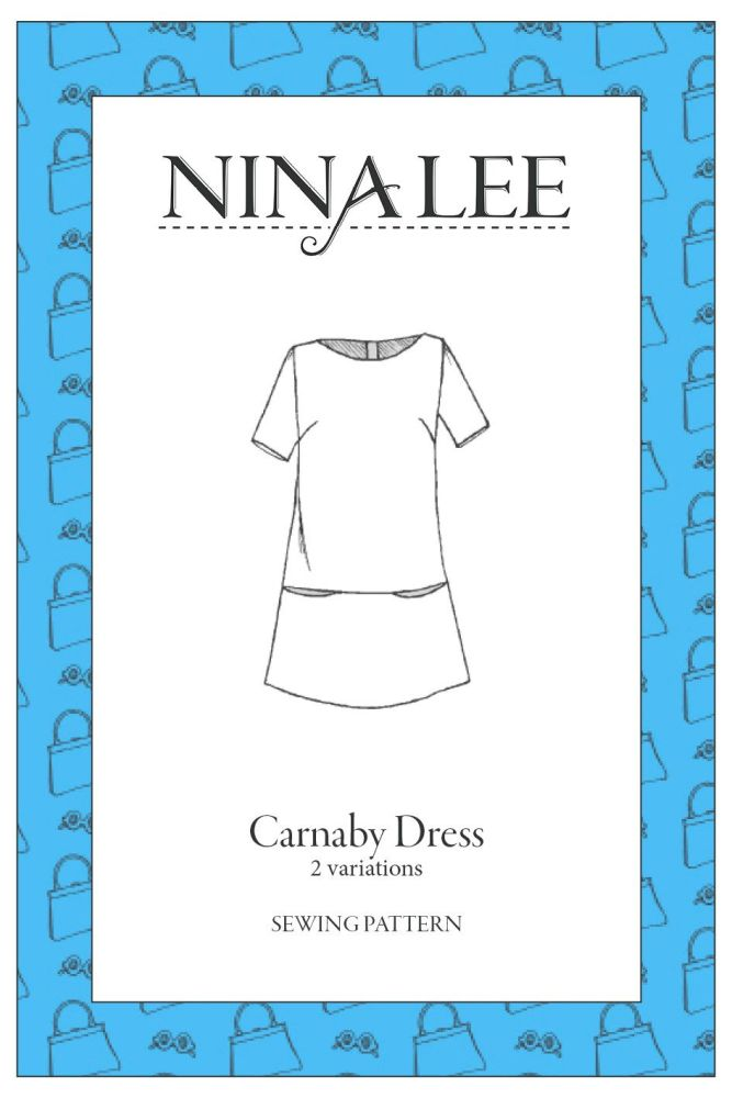 Nina Lee -The Carnaby Dress  Sewing Pattern