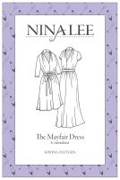 Nina Lee - The Mayfair Dress  Sewing Pattern