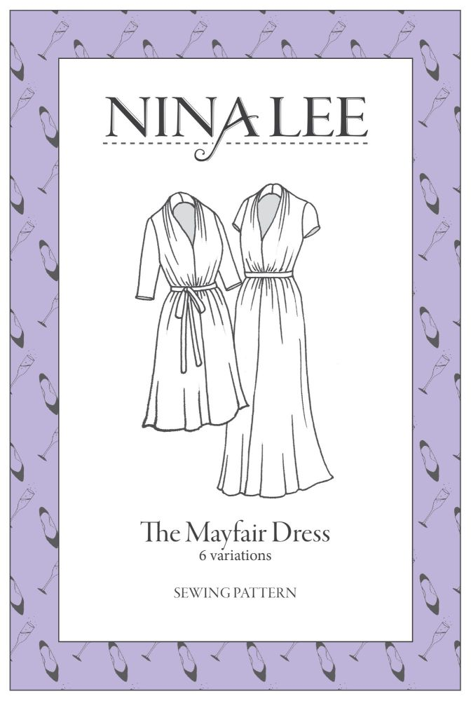 Nina Lee - The Mayfair Dress  Sewing Pattern