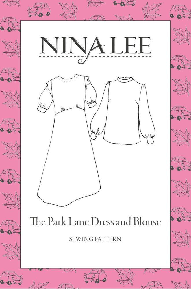 Nina Lee -The Park Lane Dress Sewing Pattern