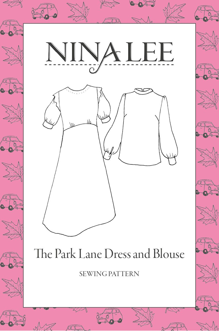 The Park Lane Dress Sewing Pattern