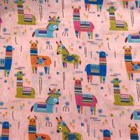 Lamas  - cotton fabric by Blend