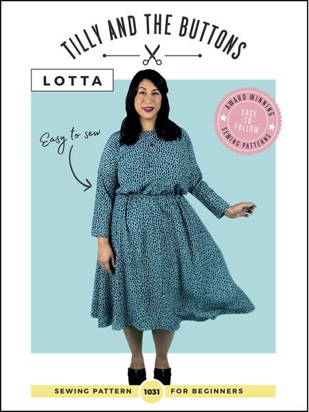Tilly and the Buttons - Lotta  Sewing Pattern