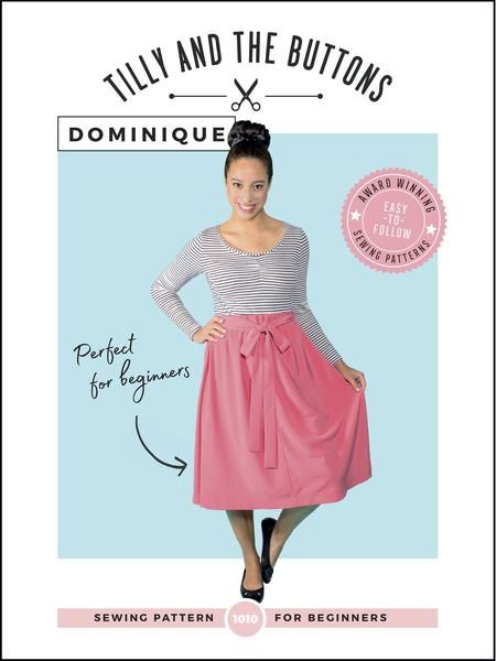 Tilly and the Buttons - Dominique Sewing Pattern