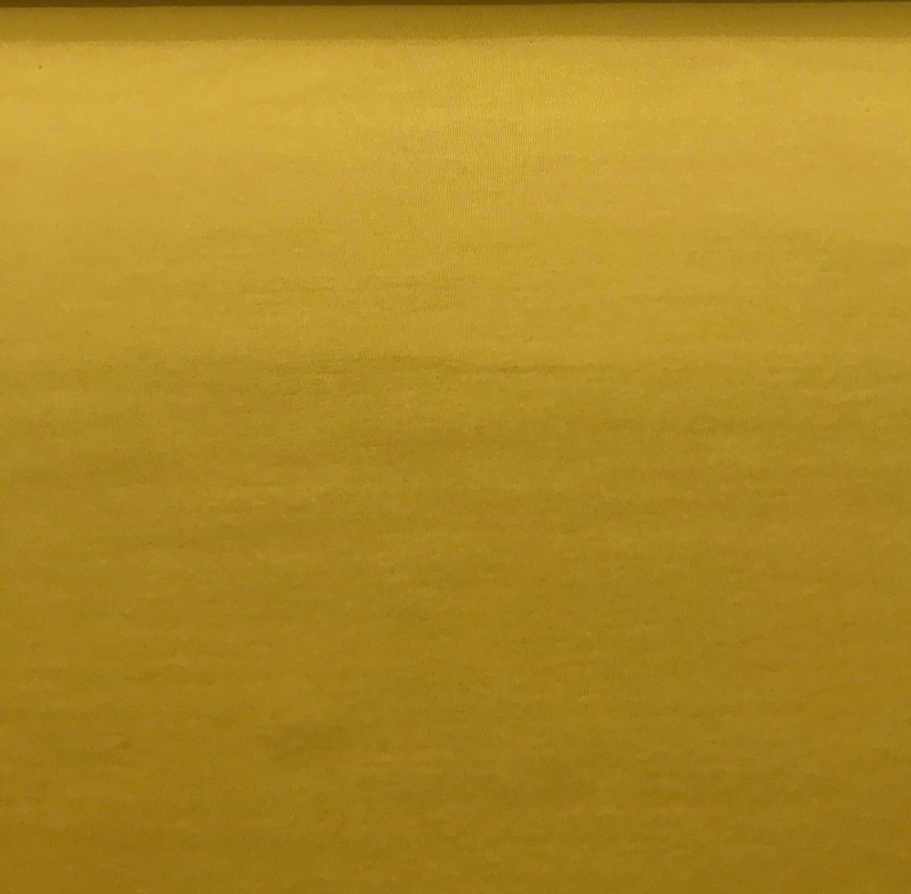 Organic - Jersey - Mustard