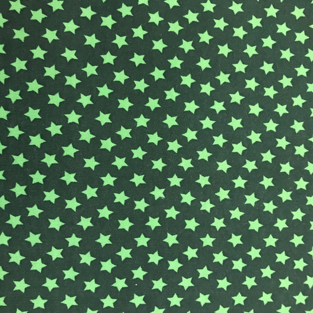 Sweat Jersey- Green Stars