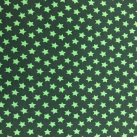 Sweat Jersey- Green Stars