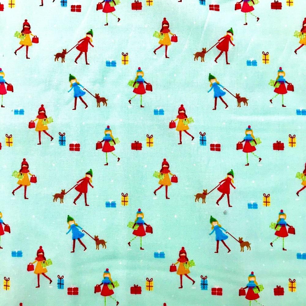 Christmas Fabric -Christmas Town