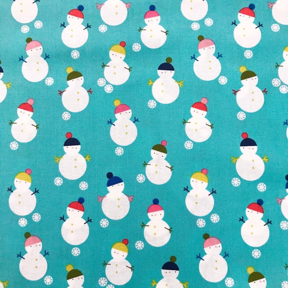 Christmas Fabric - Snowmen