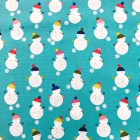 Christmas Fabric - Snowmen