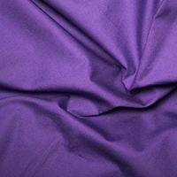 Plain Cotton Poplin - Purple