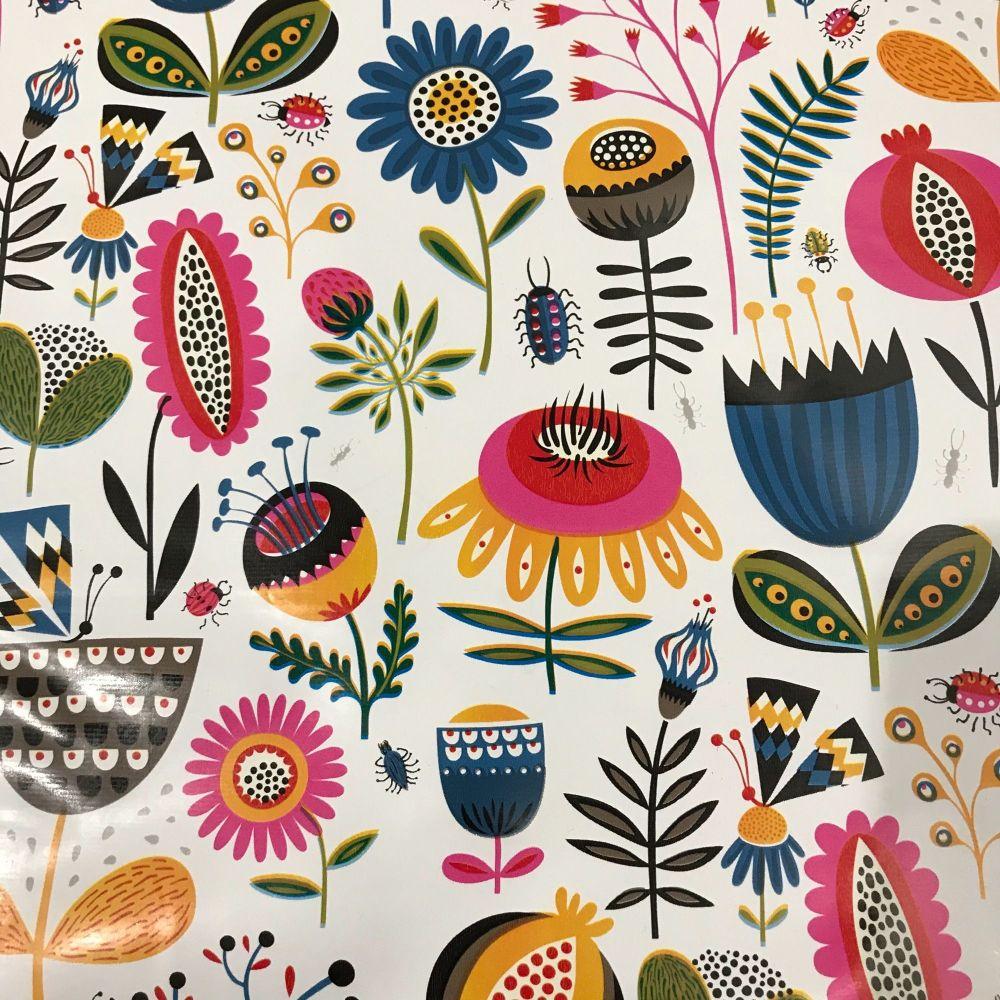 Oilcloth - Flower Field