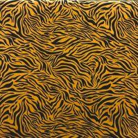 Jersey - Mustard Animal Print -