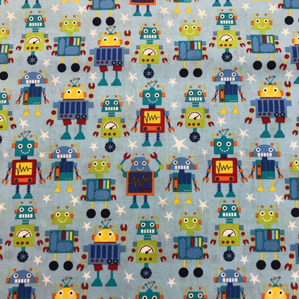 Robots by Craft Cotton Company