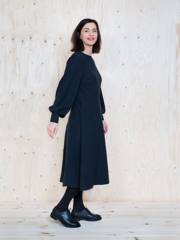 Assembly Line - Multi Sleeve Midi Dress
