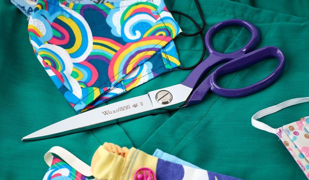 """William Whitely  Scissors 8"""" Purple"""