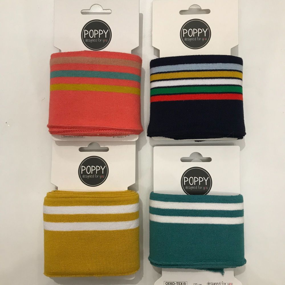 Jersey Cuffing - Sporty stripes