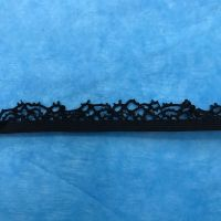 Elastic - Black Lace Edge