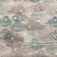 Elements - Clouds-  Cotton Fabric by Dashwood ON SALE