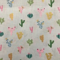 Ocean Drive - Cactus- Cotton Fabric by Dashwood