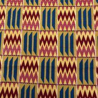 Wax Cotton - Weave Chevron