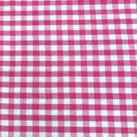 Gingham -Yarn Dyed Pink
