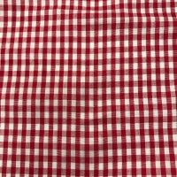 Gingham -Yarn Dyed -Red
