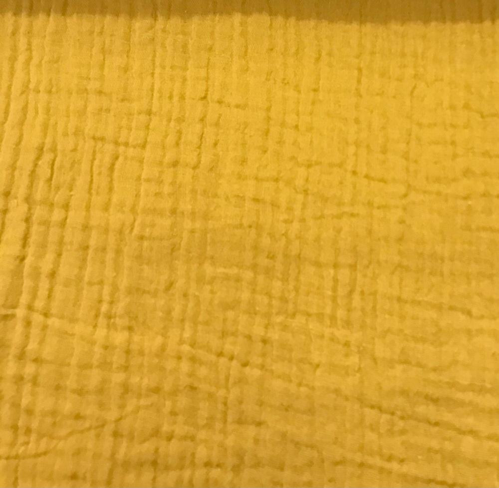 Double Gauze - Mustard