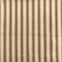 Cotton Ticking - Taupe