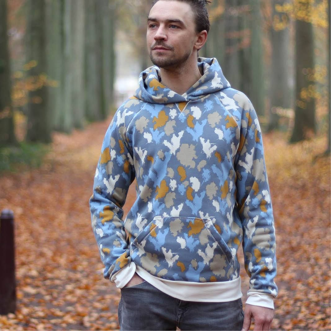 Rebel Raglan Sweatshirt Pattern