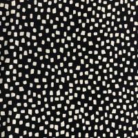 Jersey - Organic  Cotton - Shapes Navy
