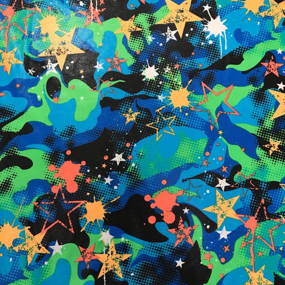 Stars Swimwear Fabric