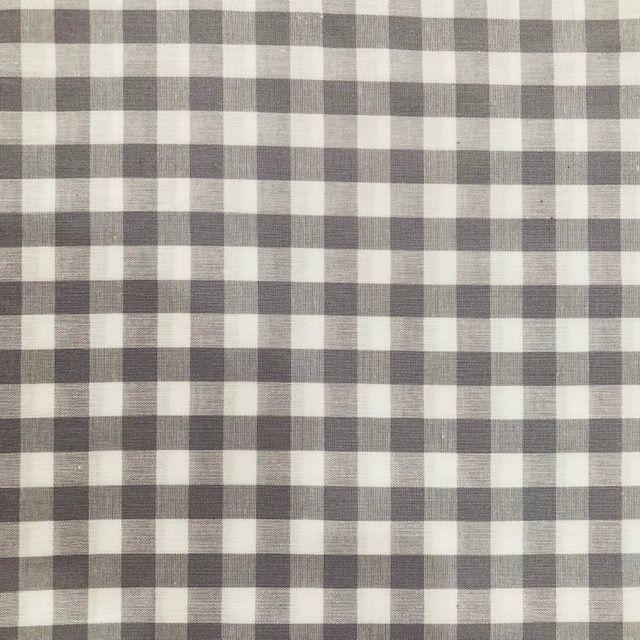 Gingham -Yarn Dyed - Light Grey