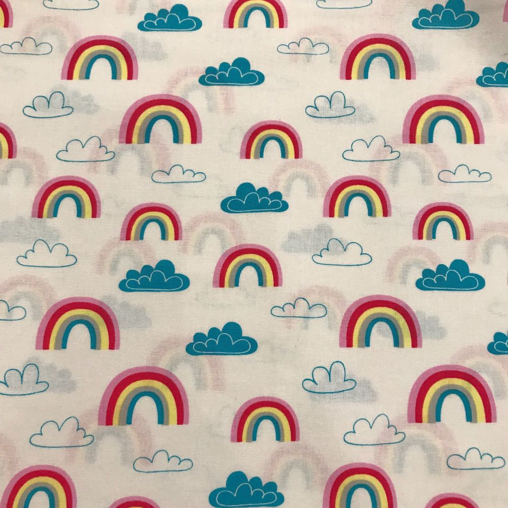 Rainbows and Clouds by Craft Cotton Company