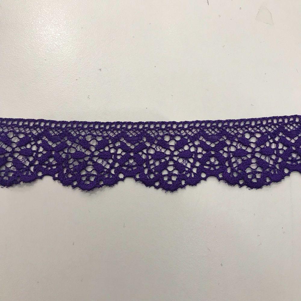Stretch Lace - Violet