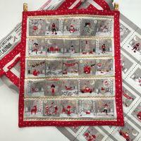 Advent Calendar -Christmas Panel Making Kit.