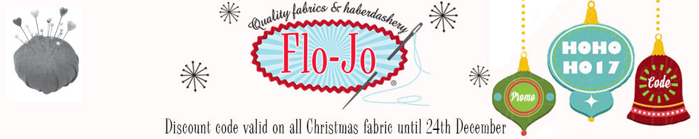 www.flo-jofabrics.co.uk, site logo.