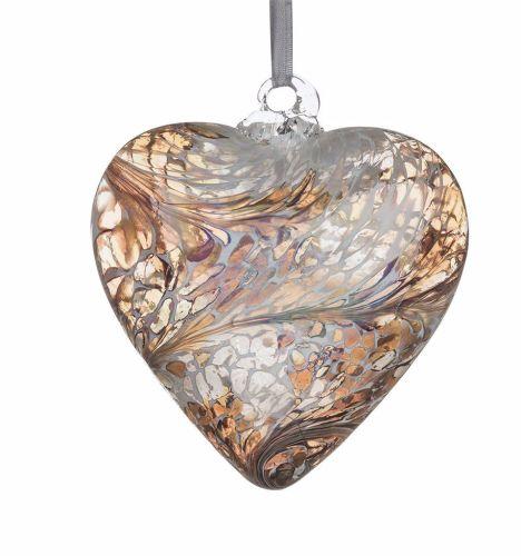 Heart 12cm Gold