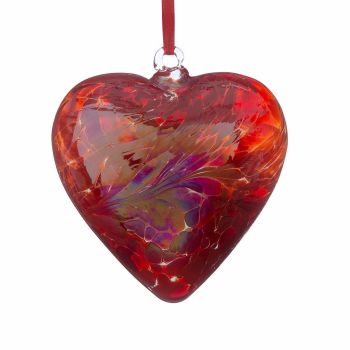 Friendship Heart 8cm red