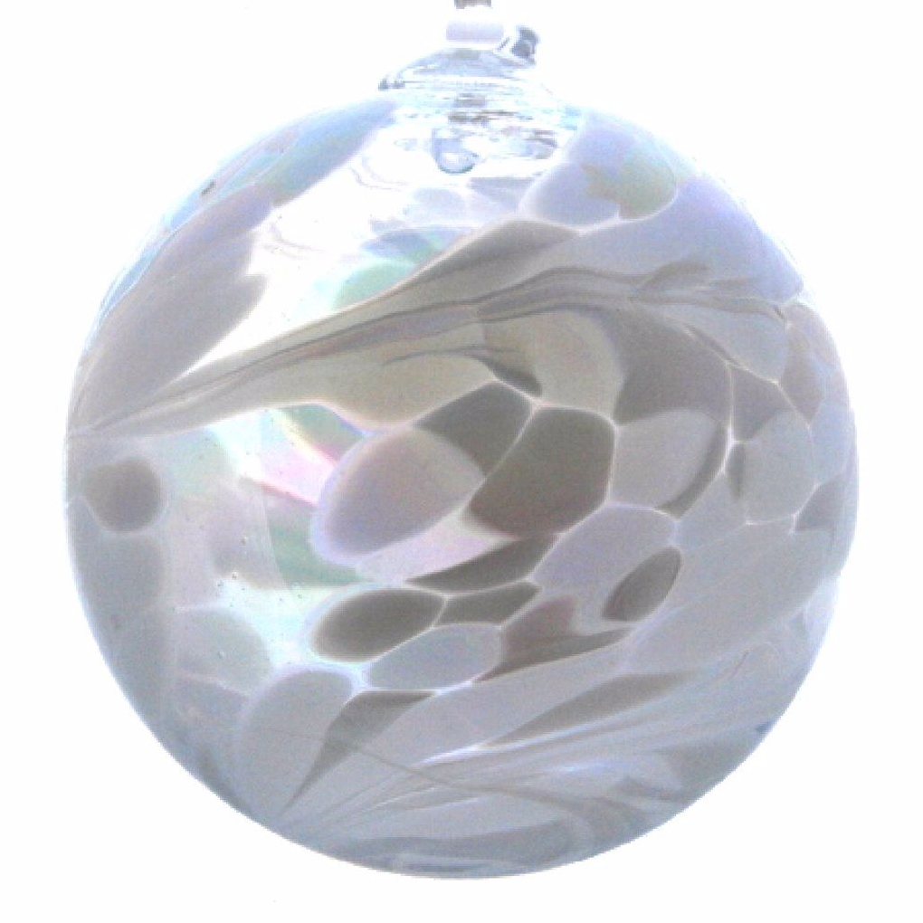 Birthstone Ball 10cm April diamond