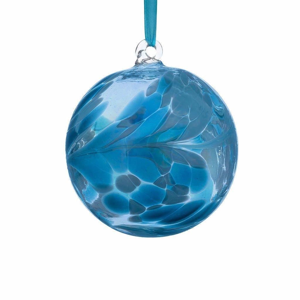 Birthstone Ball 10cm December turquoise
