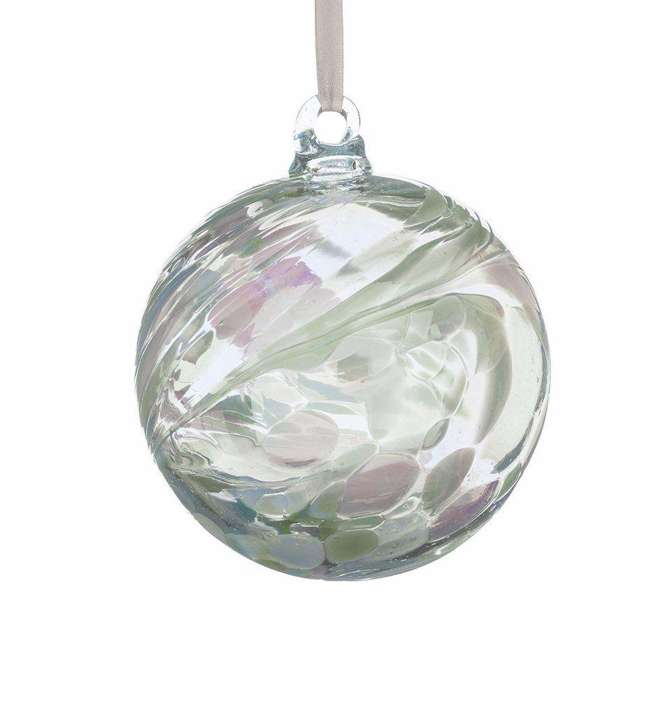 Birthstone Ball 10cm June pearl
