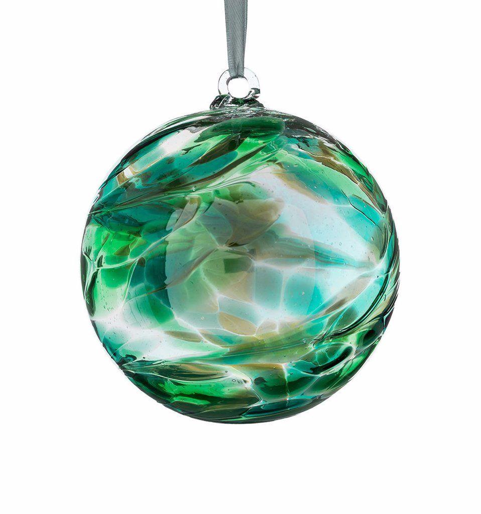 Birthstone Ball 10cm May emerald