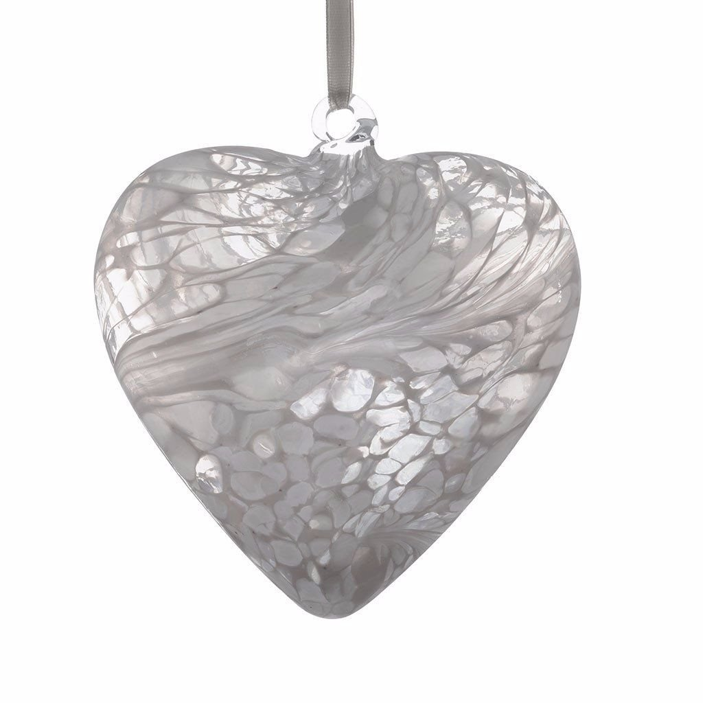 Friendship Heart 12cm white