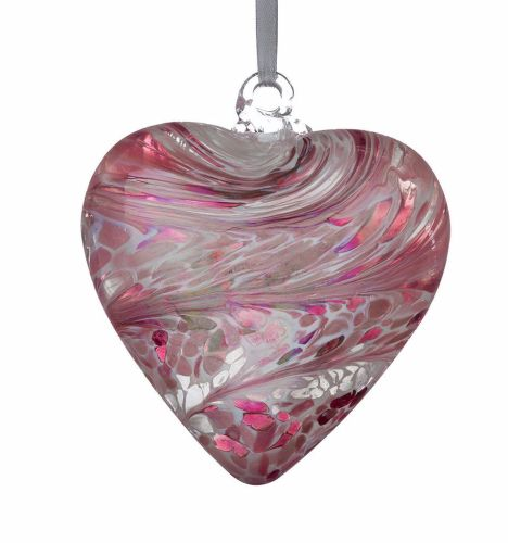 Friendship Heart 12cm pastel pink