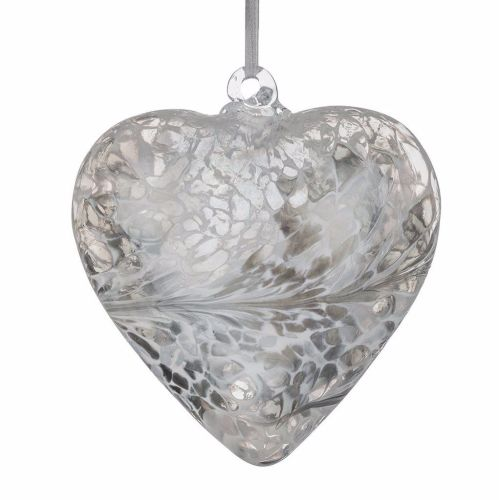 Friendship Heart 8cm silver