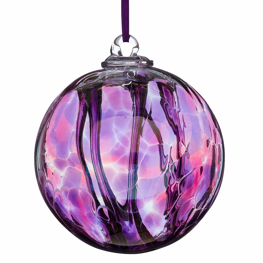 Spirit Ball 10cm pink purple