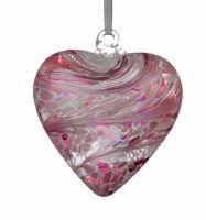 Friendship Heart 8cm pastel pink