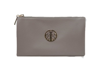 Tree of life clutch bag - grey